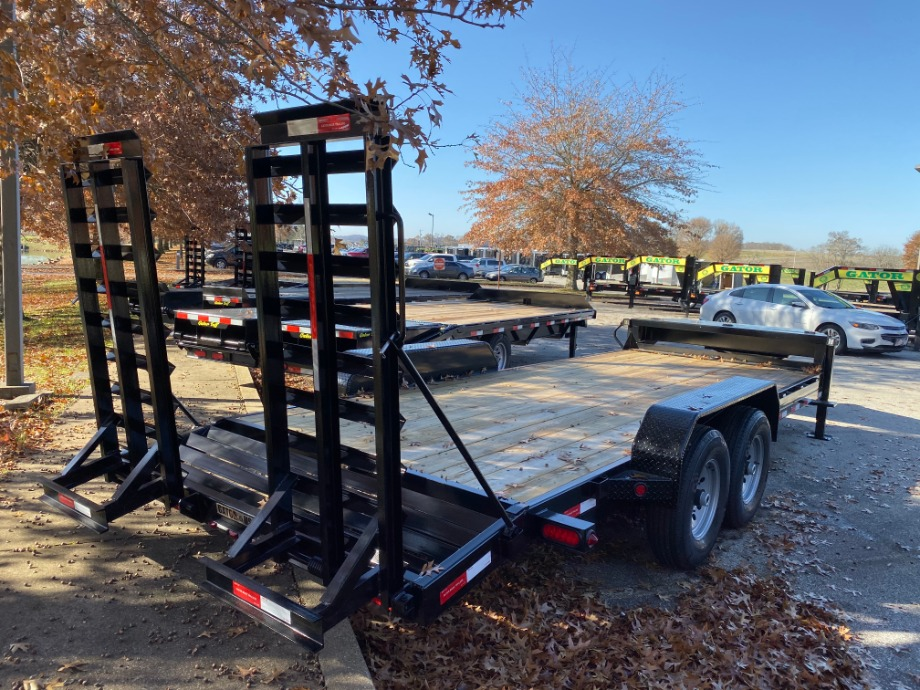 Bobcat Trailer Aardvark 14k with Ramps Best Bobcat Trailers